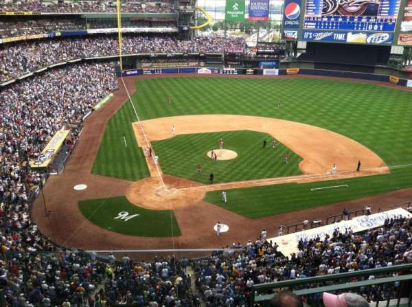 Miller Park, section: 417, row: 4, seat: 13