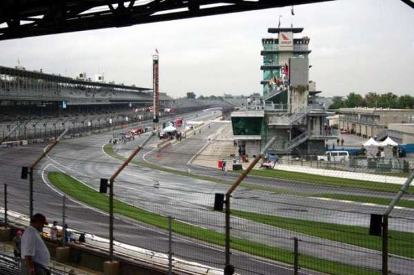 Indianapolis Motor Speedway, section: E stand Box 17, row: Q, seat: 1