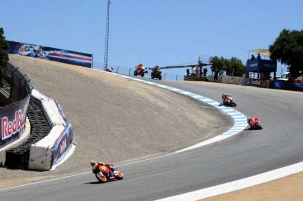 Mazda Raceway Laguna Seca, section: Turn 8