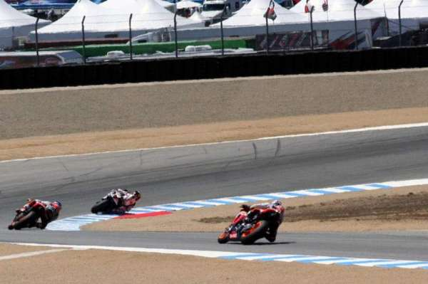 Mazda Raceway Laguna Seca, section: Turn 10