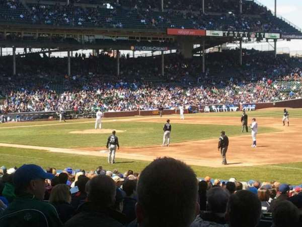 Wrigley Field, section: 129, row: 10, seat: 7