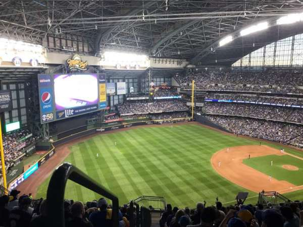 Miller Park, section: 436, row: 24, seat: 1