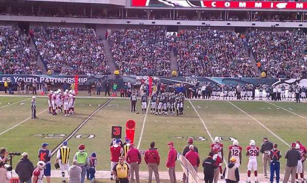 Lincoln Financial Field, section: 118, row: 6, seat: 10