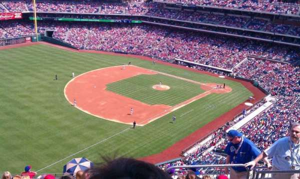 Citizens Bank Park, section: 432, row: 10 , seat: 5