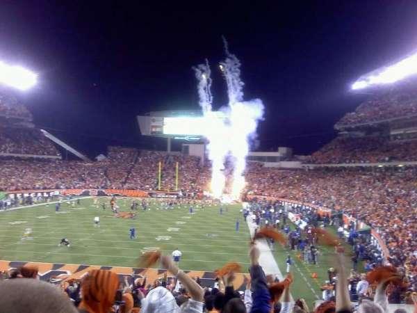 Paul Brown Stadium, section: 122, row: 26, seat: 15