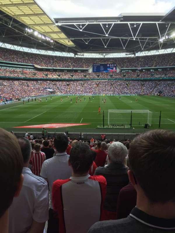 Wembley Stadium, section: Block 134, row: 27, seat: 12