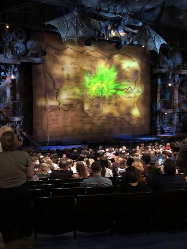 Gershwin Theatre, section: Orchestra L, row: S, seat: 27