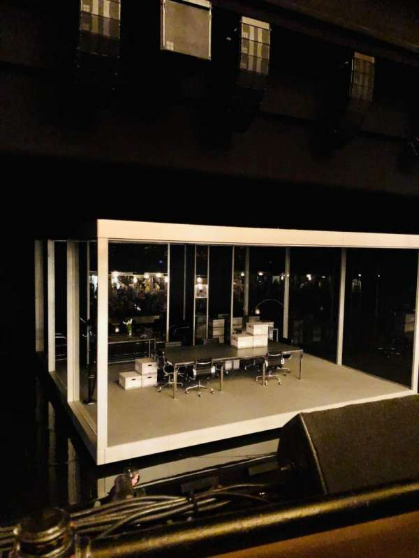 Nederlander Theatre, section: Mezzanine L, row: A, seat: 7