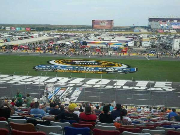 Charlotte Motor Speedway, section: General motors E, row: 38, seat: 20