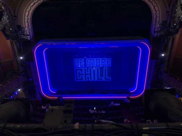 Lyceum Theatre (Broadway), section: Balcony C, row: A, seat: 106