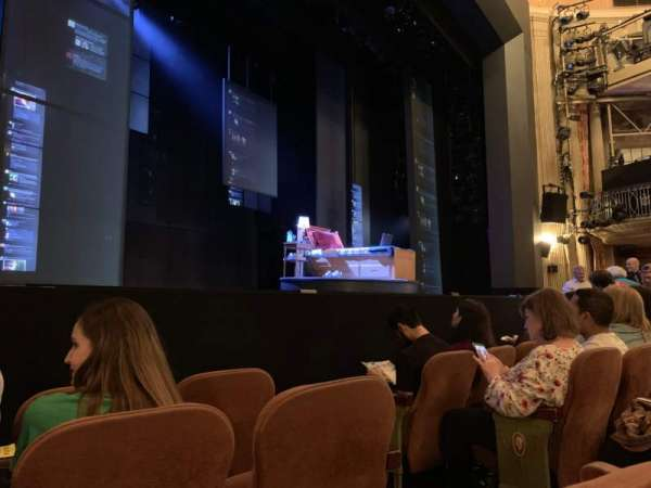 Music Box Theatre, section: Orchestra L, row: D, seat: 7