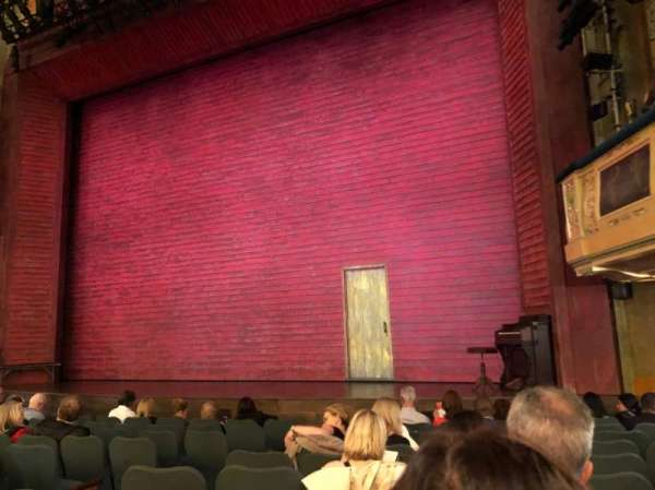 Shubert Theatre, section: Orchestra R, row: L, seat: 12