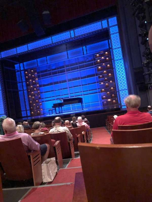 Stephen Sondheim Theatre, section: Orchestra right, row: N, seat: 2