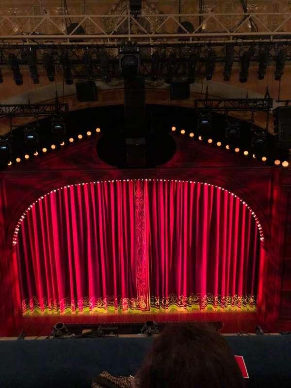 Shubert Theatre, section: Balcony C, row: B, seat: 107