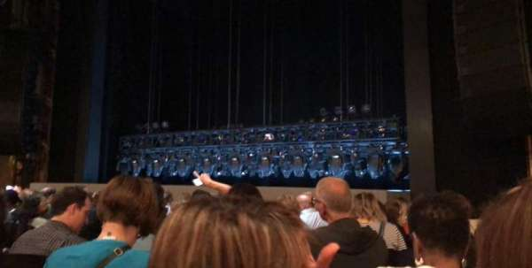 Lunt-Fontanne Theatre, section: Orchestra right, row: L, seat: 12