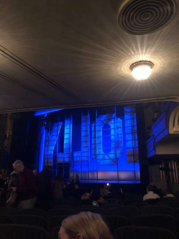 Nederlander Theatre, section: Orchestra Right, row: O, seat: 22