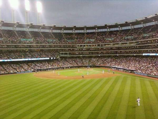 Progressive Field, section: 182, row: 1