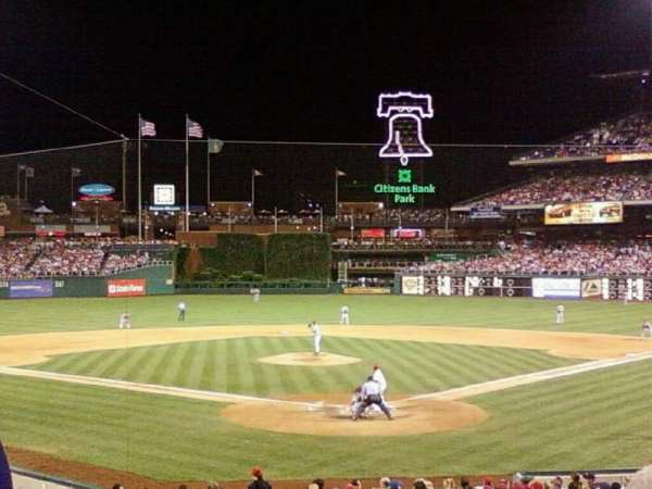 Citizens Bank Park, section: 113