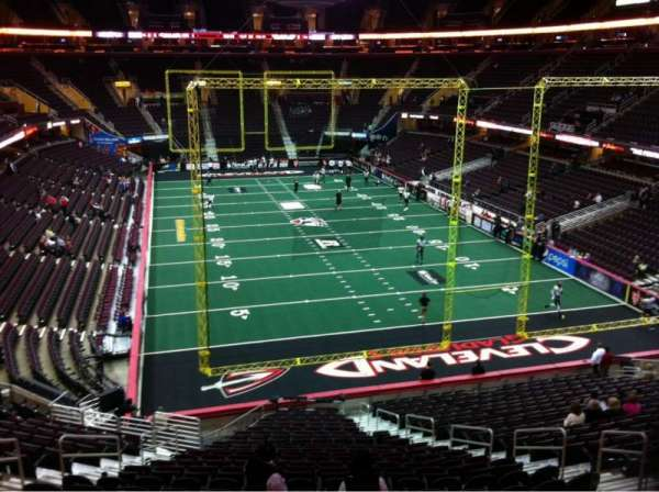 Quicken Loans Arena, section: 116, row: 23, seat: 10