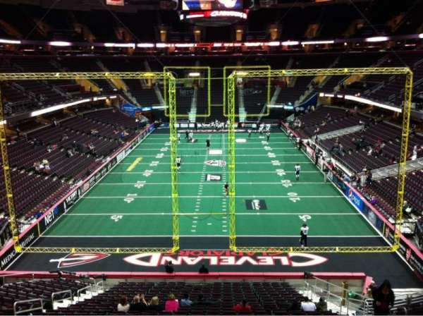 Quicken Loans Arena, section: 117, row: 23, seat: 10
