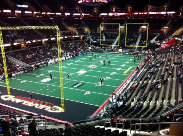 Quicken Loans Arena, section: 120, row: 23, seat: 10