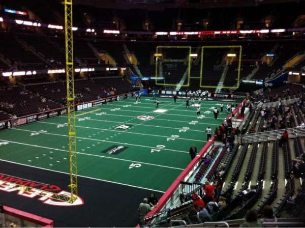 Quicken Loans Arena, section: 120, row: 18, seat: 4
