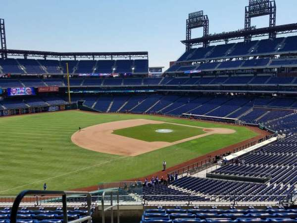 Citizens Bank Park, section: 233, row: 8, seat: 13