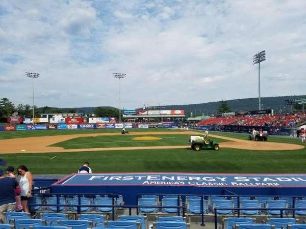FirstEnergy Stadium (Reading), section: 9, row: 11, seat: 9