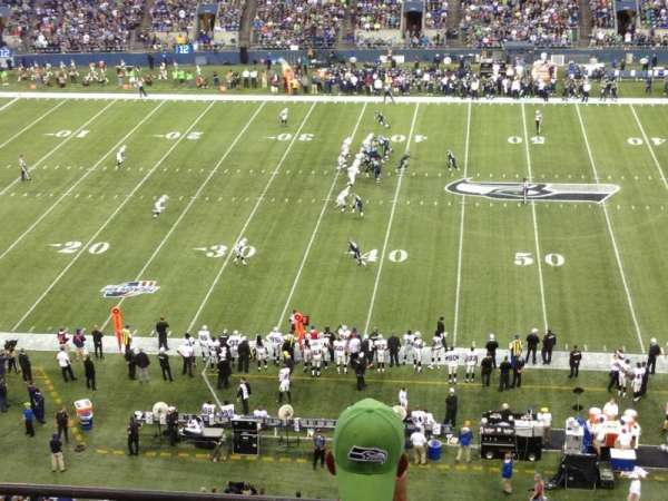CenturyLink Field, section: 309, row: D, seat: 20