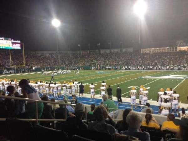Yulman Stadium, section: 106, row: I, seat: 16