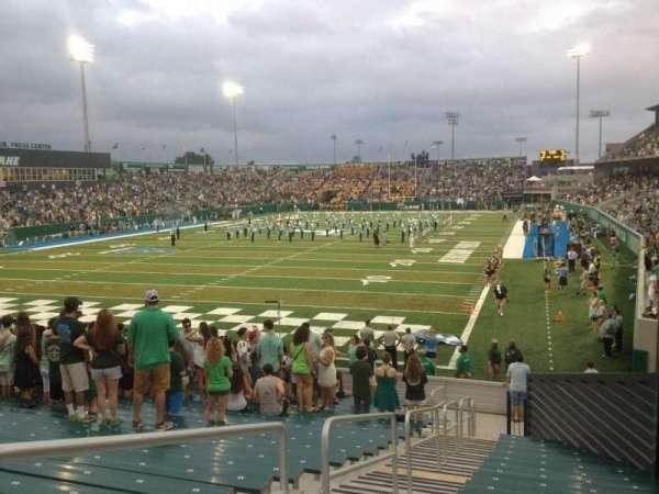 Yulman Stadium, section: 131, row: X, seat: 3