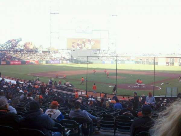 AT&T Park, section: 117, row: 30, seat: 12