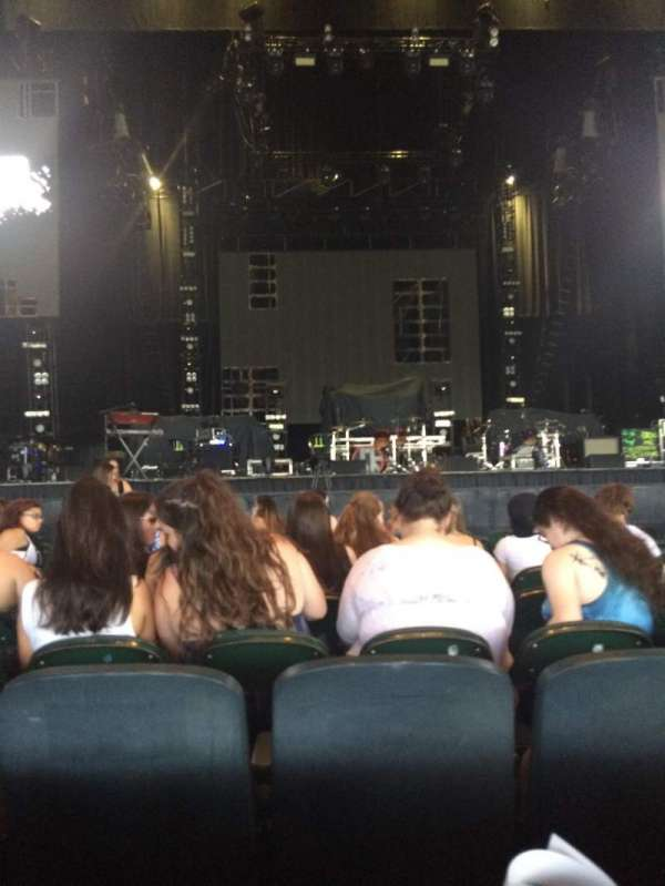 BB&T Pavilion, section: 102, row: C, seat: 16