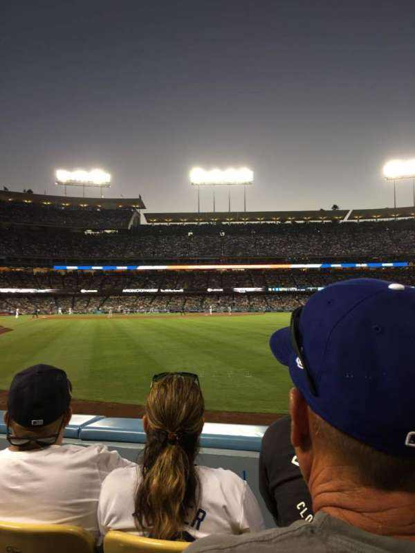 Dodger Stadium, section: 52fd, row: B, seat: 3