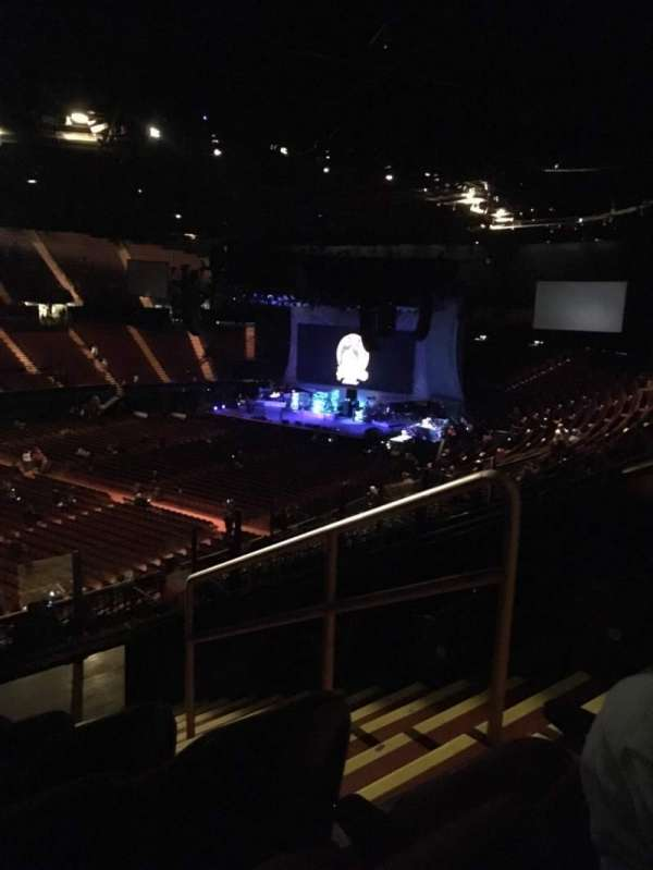 The Forum, section: 205, row: 9, seat: 14