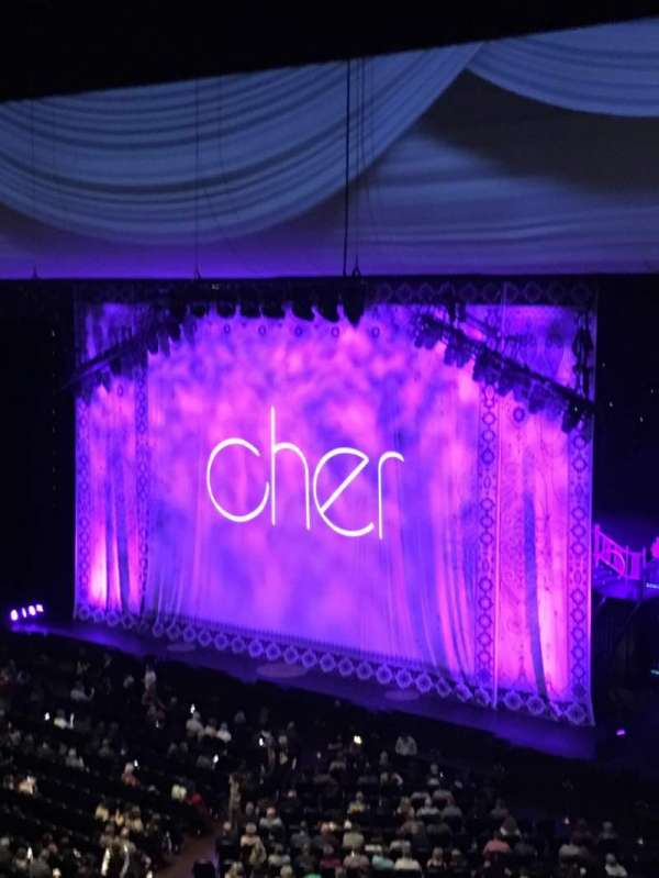 Park Theater at Park MGM, section: 402, row: C, seat: 23