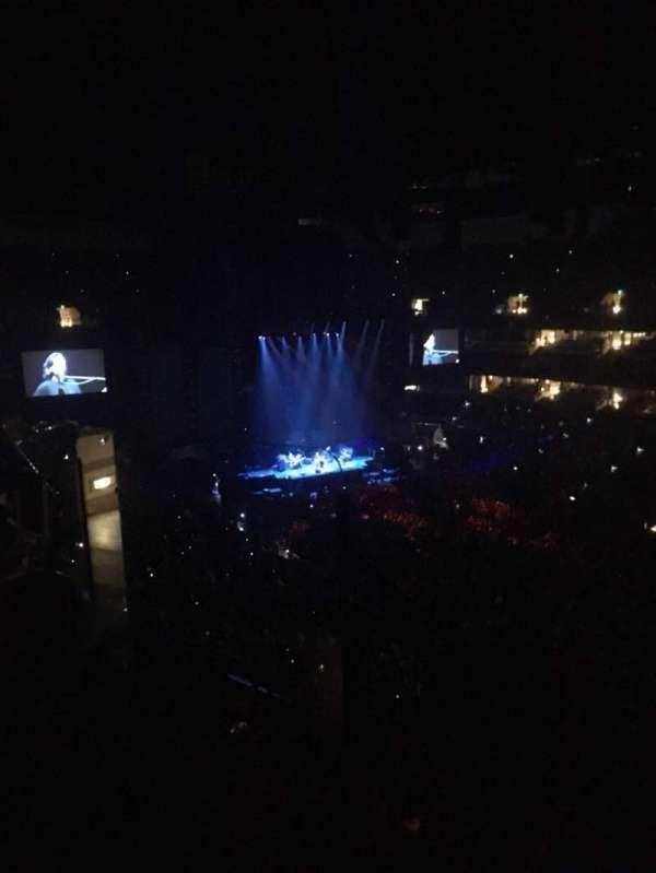 Honda Center, section: 406, row: F, seat: 9