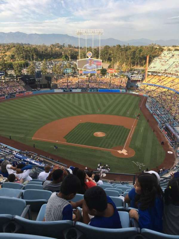 Dodger Stadium, section: 9TD, row: K, seat: 8