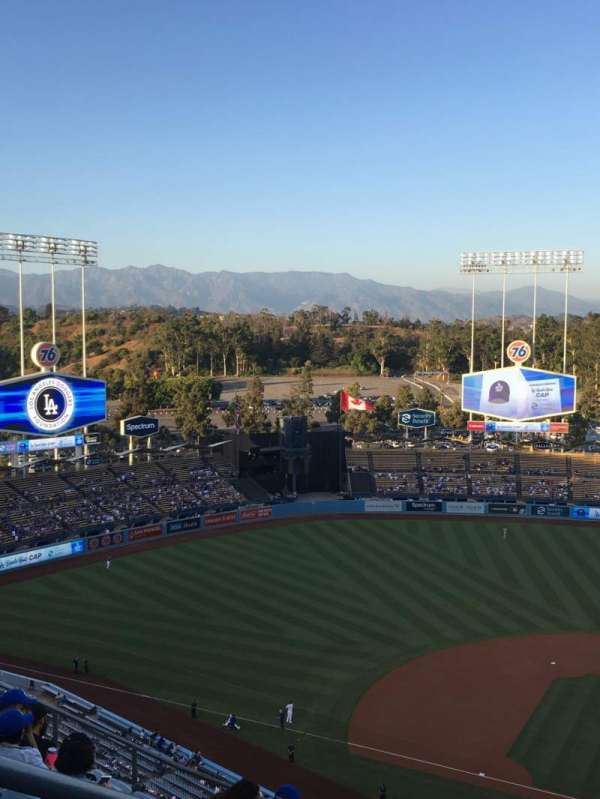 Dodger Stadium, section: 11TD, row: K, seat: 20