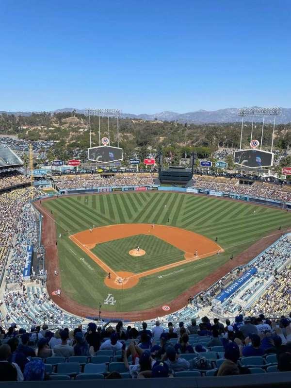 Dodger Stadium, section: 4TD, row: O, seat: 12