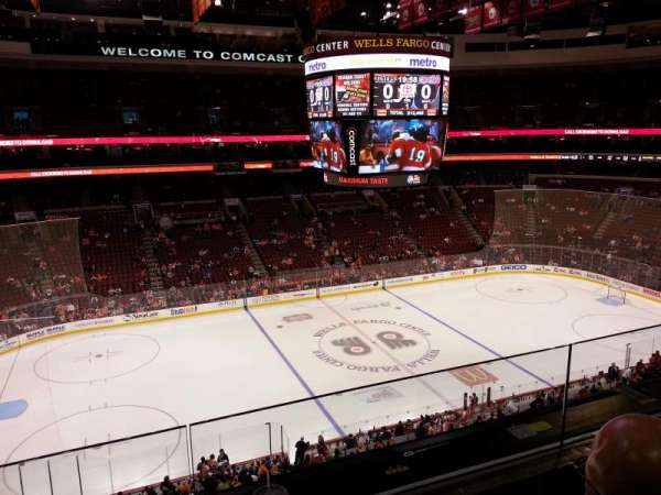 Wells Fargo Center, section: 223, row: 2, seat: 17
