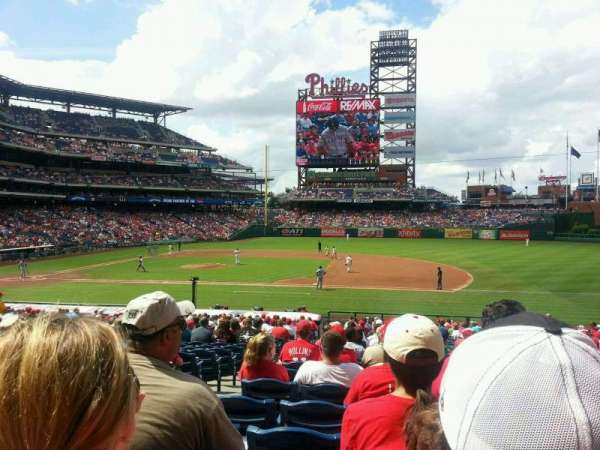 Citizens Bank Park, section: 115, row: 30, seat: 18