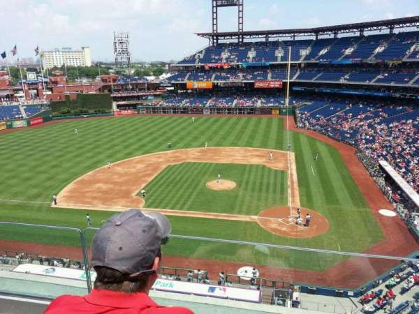 Citizens Bank Park, section: 324, row: 2, seat: 19