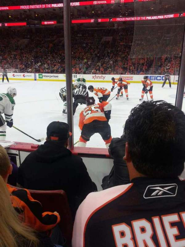 Wells Fargo Center, section: 103, row: 3, seat: 14