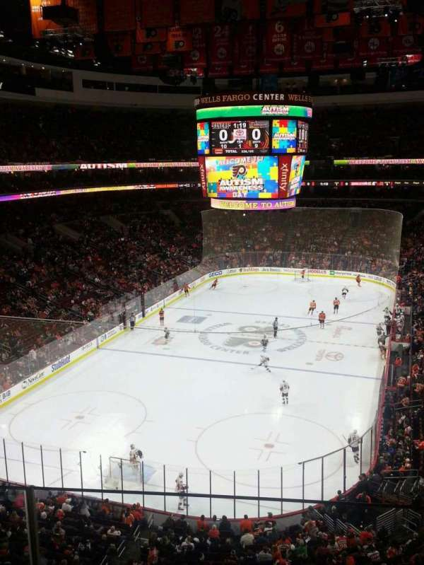 Wells Fargo Center, section: 220, row: 2, seat: 8