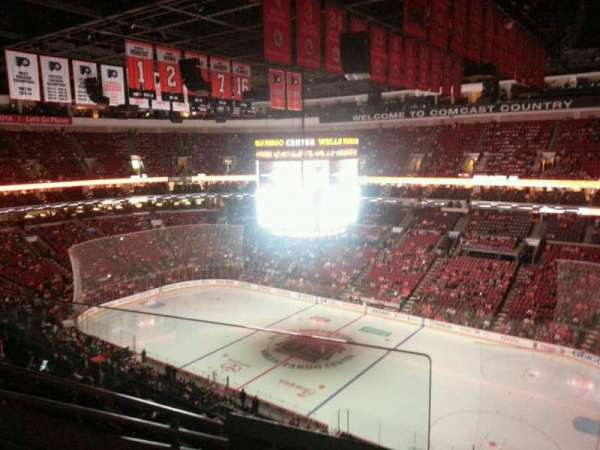 Wells Fargo Center, section: 204, row: 8, seat: 2