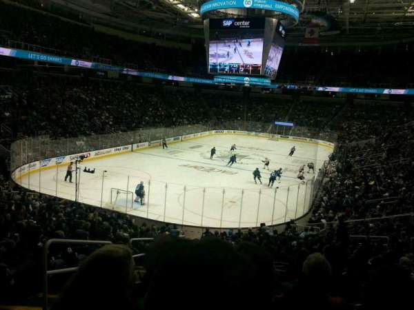 SAP Center at San Jose, section: 106, row: 22, seat: 22