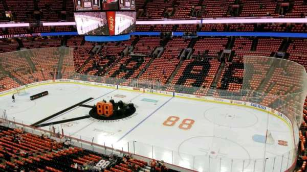 Wells Fargo Center, section: 203, row: 1, seat: 22