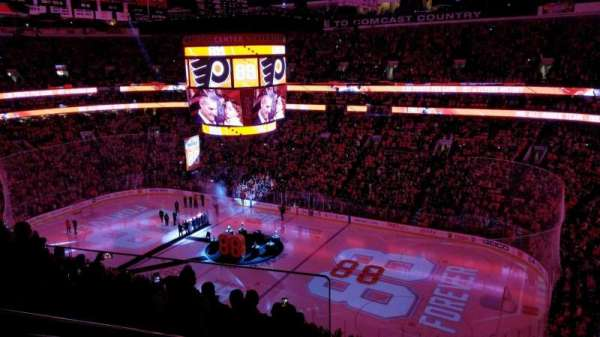 Wells Fargo Center, section: 204, row: 8, seat: 1