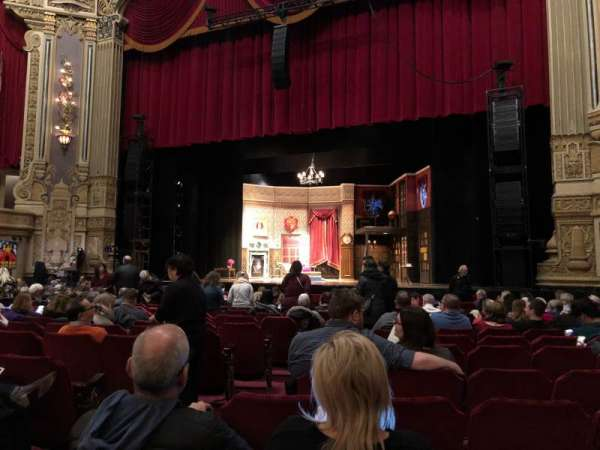 James M. Nederlander Theatre, section: Orchestra R, row: P, seat: 6